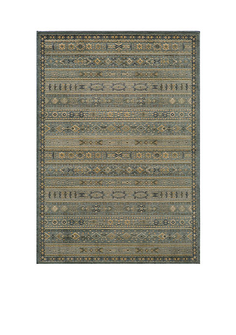 Momeni Belmont Stripes Light Blue Area Rug 710""