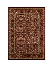 Belmont Ivy Red Area Rug 7'10\