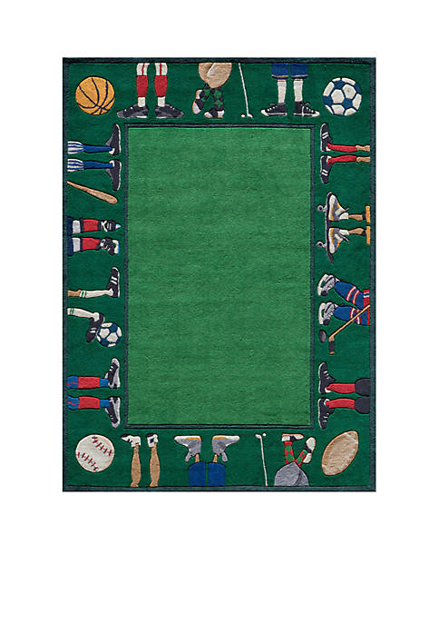 Momeni Lil Mo Sports Feet Area Rug 2