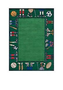 Lil Mo Sports Feet Area Rug 3' x 5'