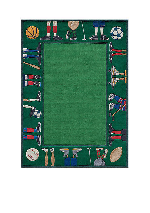Momeni Lil Mo Sports Feet Area Rug 4