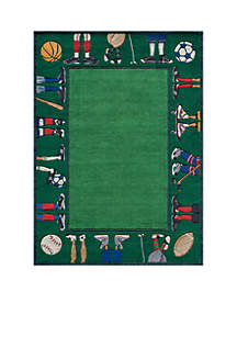 Lil Mo Sports Feet Area Rug 5' x 7'