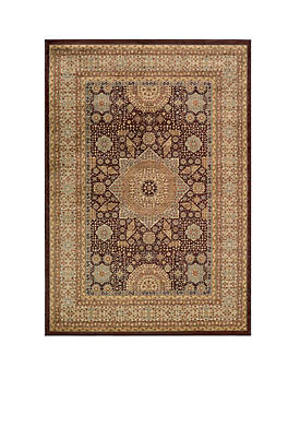 "Belmont Celestial Brown Area Rug 53"" x 76"""