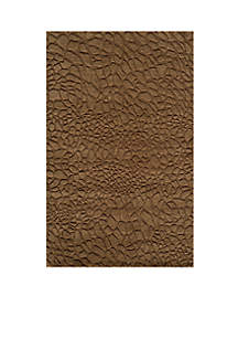 Gramercy Pebbles Brown Area Rug 2' x 3'