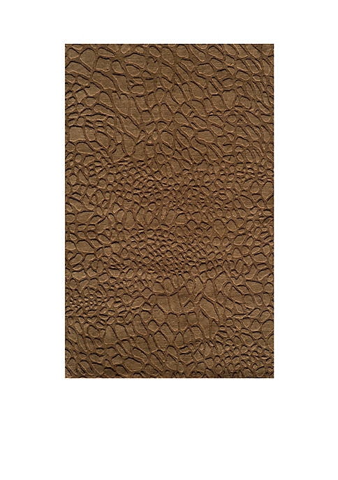 "Momeni Gramercy Pebbles Brown Area Rug 26"" x"