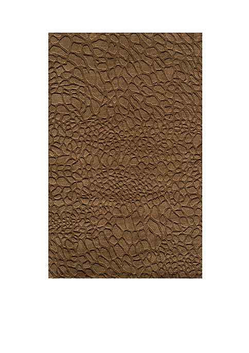 "Momeni Gramercy Pebbles Brown Area Rug 36"" x"