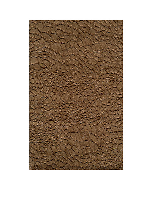 Momeni Gramercy Pebbles Brown Area Rug 5 x
