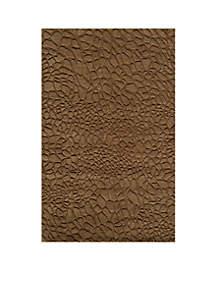 Gramercy Pebbles Brown Area Rug 5' x 8'