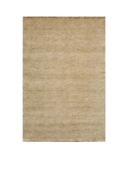 "Momeni Gramercy Solid Wheat Area Rug 26"" x"
