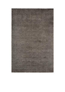 Gramercy Solid Charcoal Area Rug