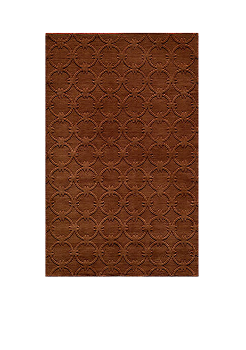 "Momeni Gramercy Global Copper Area Rug 36"" x"