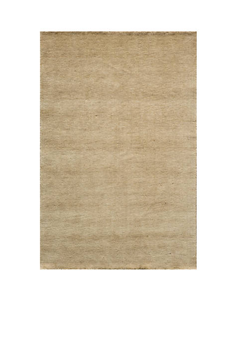 Momeni Gramercy Solid Wheat Area Rug 5 x