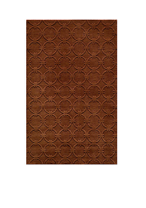 Momeni Gramercy Global Copper Area Rug 5 x