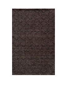 Momeni Gramercy Global Charcoal Area Rug 5' x 8'