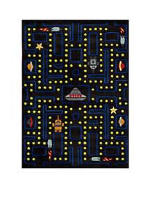 Lil Mo Arcade Black Area Rug 3' x 2'