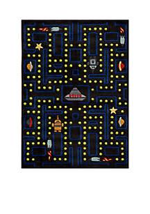 Lil Mo Arcade Black Area Rug 5' x 3'