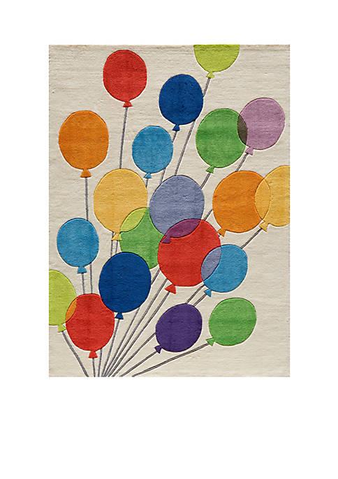 Momeni Lil Mo Balloons Beige Area Rug 5¿