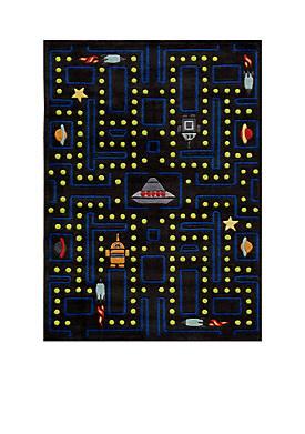 Lil Mo Arcade Black Area Rug 6 x 4
