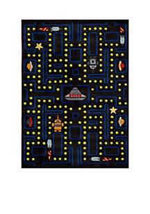 Lil Mo Arcade Black Area Rug 7' x 5'