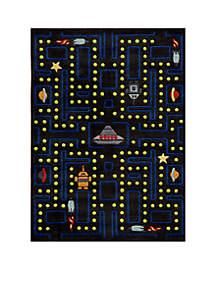 Lil Mo Arcade Black Area Rug 10' x 8'