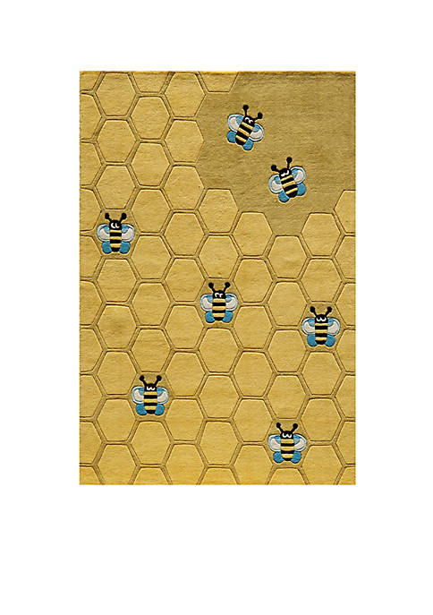 Momeni Lil Mo Honeycomb Area Rug 8 x