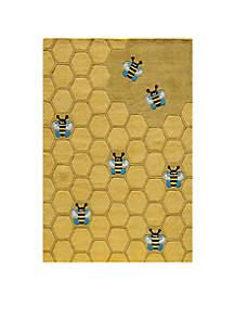 Momeni Lil Mo Honeycomb Area Rug 8' x 10'