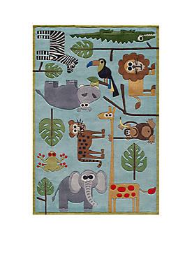 Lil Mo Jungle Area Rug 2 x 3