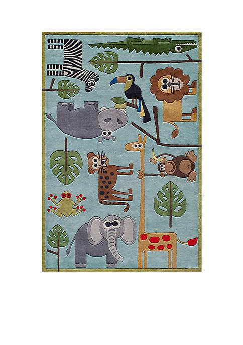 Momeni Lil Mo Jungle Area Rug 3 x