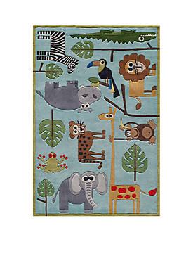 Lil Mo Jungle Area Rug 8 x 10