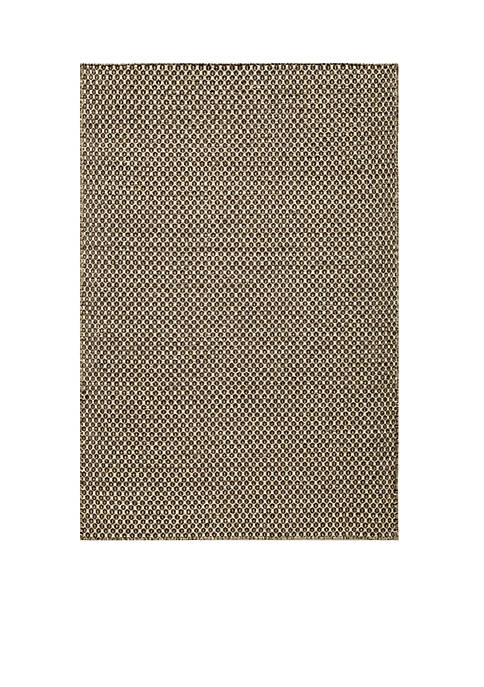 Momeni Mesa Dots Brown Area Rug 5 x