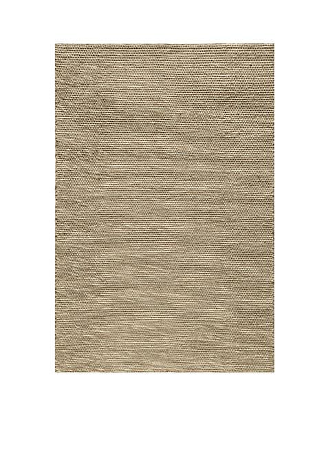 Mesa Solid Natural Area Rug 5 x 8