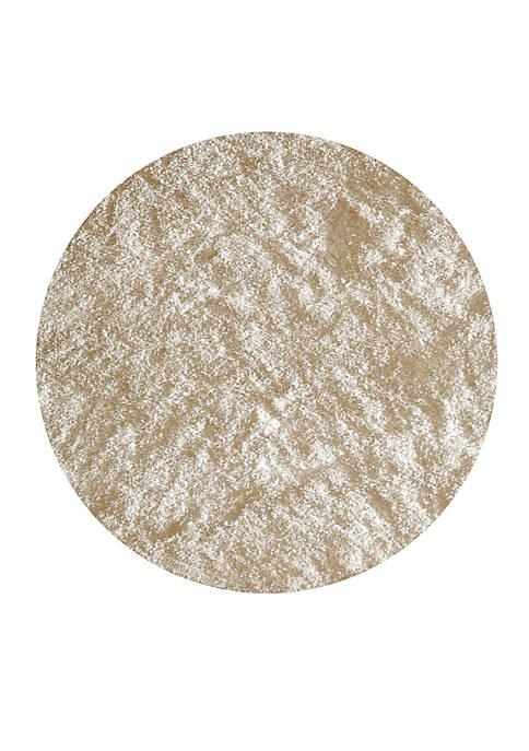 Momeni Luster Shag Solid White Area Rug 4