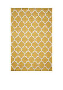 Momeni Geo Tiles Yellow Area Rug 2' x 3'