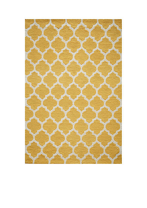 "Momeni Geo Tiles Yellow Area Rug 36"" x"