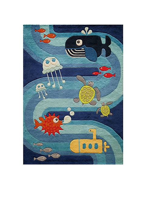 Momeni Lil Mo Under the Sea Rug 3