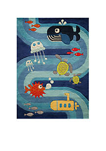 Lil Mo Under the Sea Rug 3' x 5'