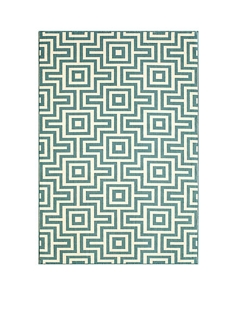 Momeni Baja Links Blue Area Rug