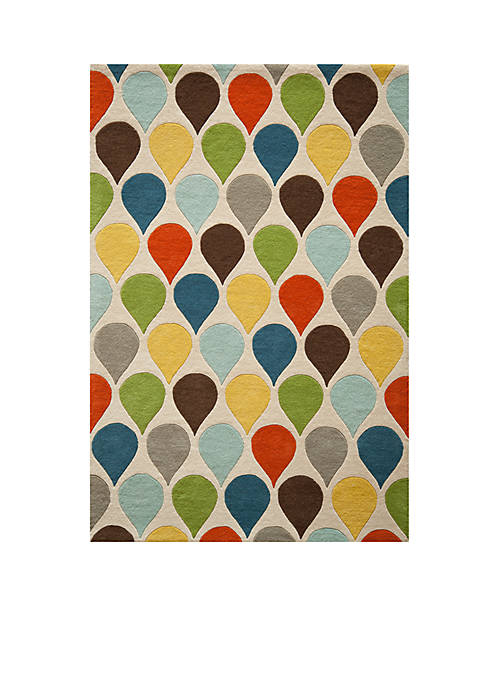 "Momeni Delhi Droplets Multi Area Rug 36"" x"