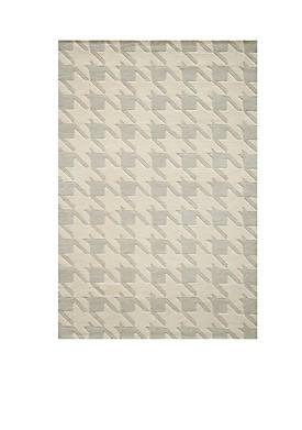 "Delhi Jigsaw Gray Area Rug 36"" x 56"""