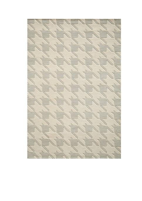 "Momeni Delhi Jigsaw Gray Area Rug 36"" x"