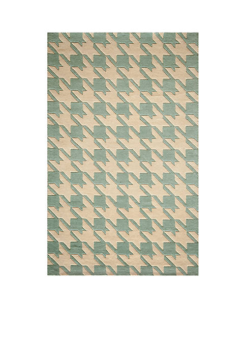 Momeni Delhi Jigsaw Light Blue Area Rug 36""