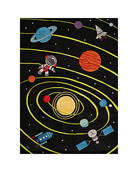 Lil Mo Outer Space Area Rug 2 X 3