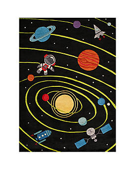 Lil Mo Outer Space Area Rug 4 X 6