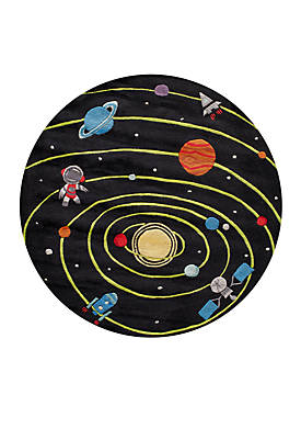 Lil Mo Outer Space Area Rug 5 x 5