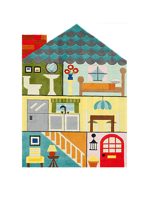 Momeni Lil Mo Playhouse Area Rug 4 x
