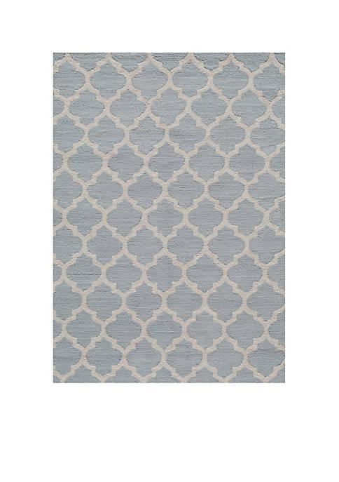 "Momeni Geo Tiles Gray Area Rug 23"" x"