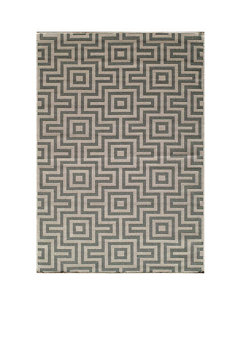 "Momeni Baja Links Gray Area Rug 311"" x"
