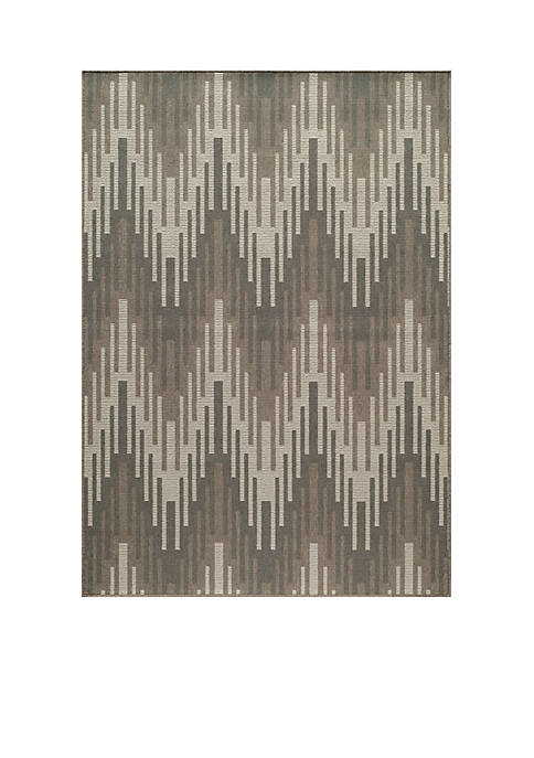 "Momeni Baja Waves Taupe Area Rug 710"" x"