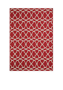 Baja Red Area Rug