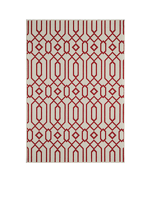"Momeni Baja Crown Beige Area Rug 311"" x"